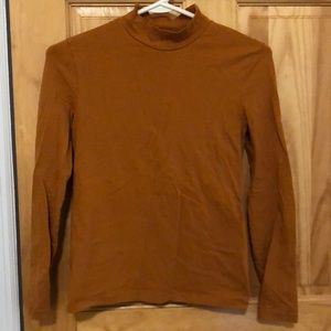 American Apparel mockneck top